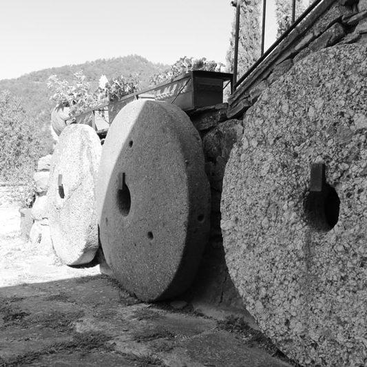 macine in pietra alla Tenuta Mazzini, agriturismo vicino Firenze con piscina| Tenuta Mazzini Agriturismo-San Godenzo