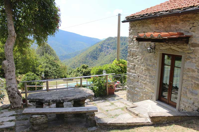 esterno dell'appartamento il morettino della Tenuta Mazzini, agriturismo vicino Firenze|Tenuta Mazzini Agriturismo-San Godenzo